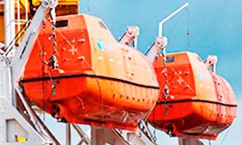 certificado embarcaciones de supervivencia y botes de rescate no rápidos