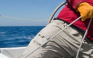 trabajar en el mar